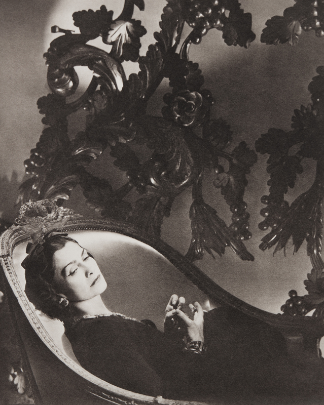 Horst P Horst  Coco Chanel, II, Paris 1937 