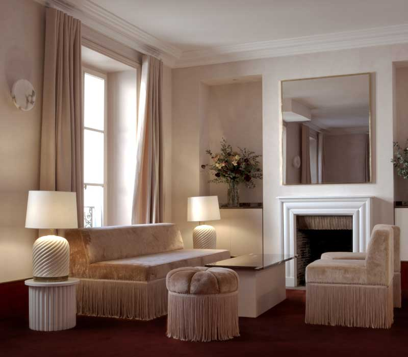 le nouveau design de l 39 h tel particulier montmartre. Black Bedroom Furniture Sets. Home Design Ideas