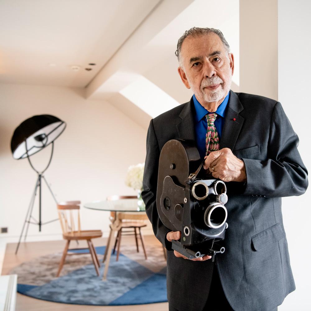 Francis Ford Coppola dans sa suite au Lutetia