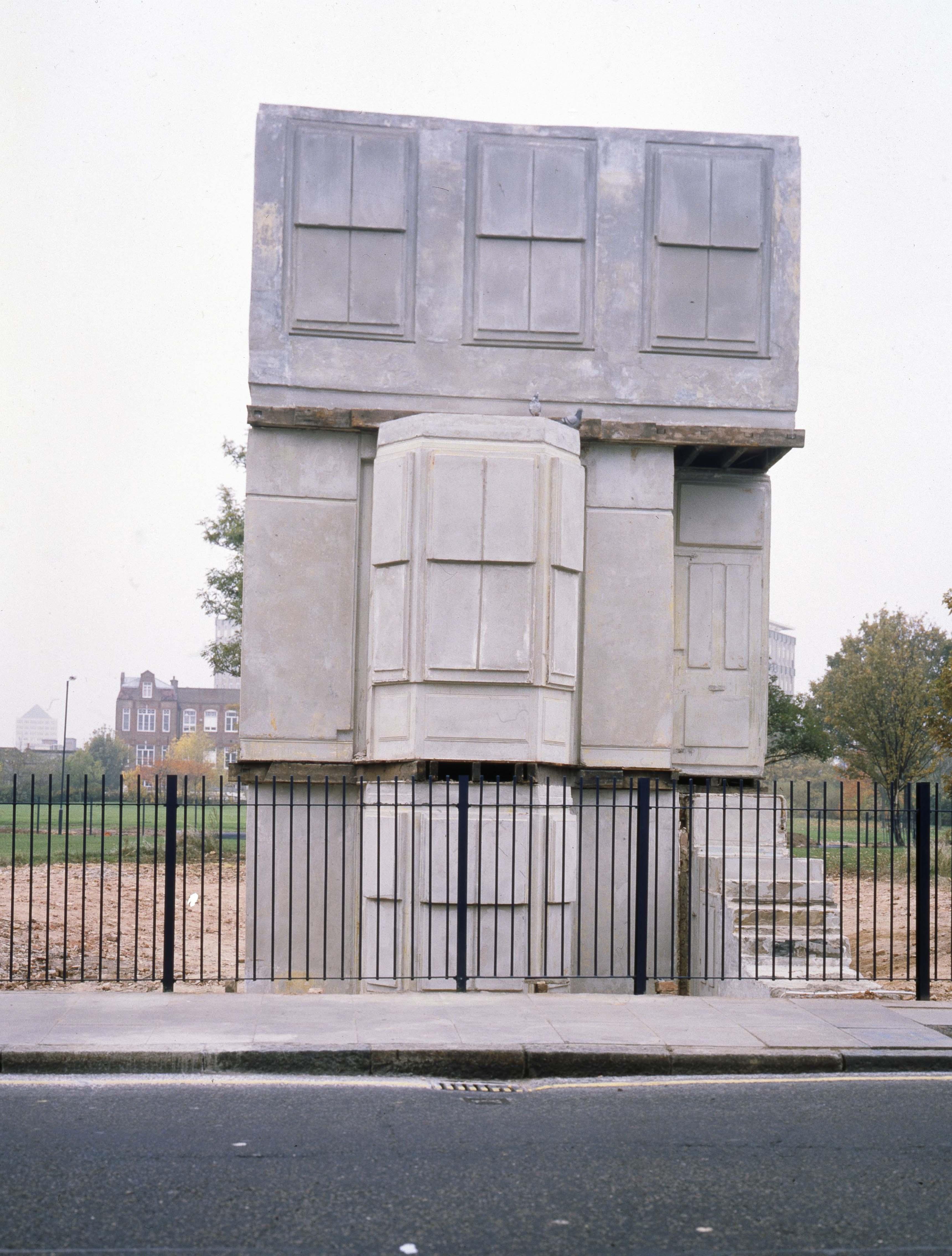 House, 1993, Rachel Whiteread