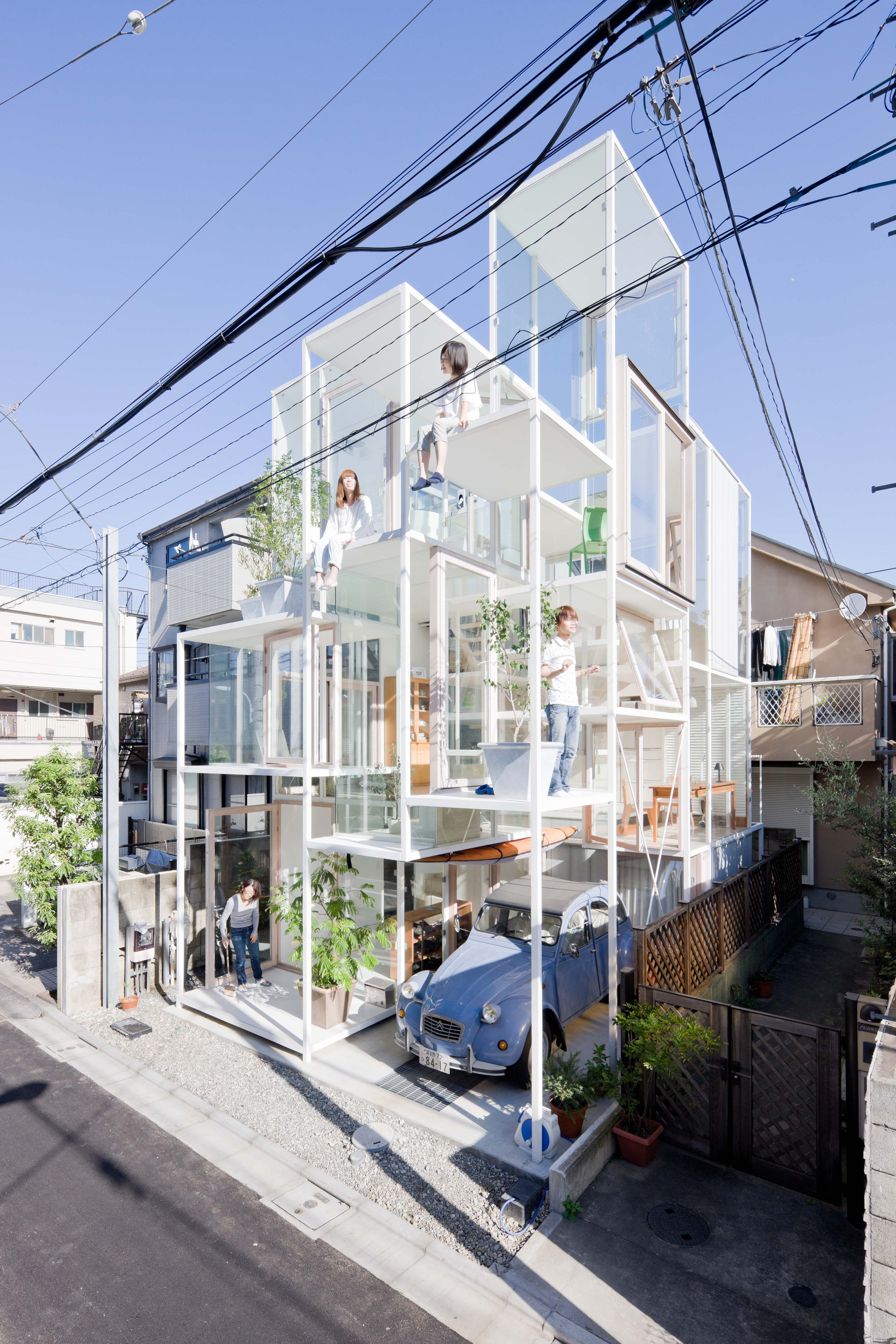 Sou Fujimoto, House NA, 2011