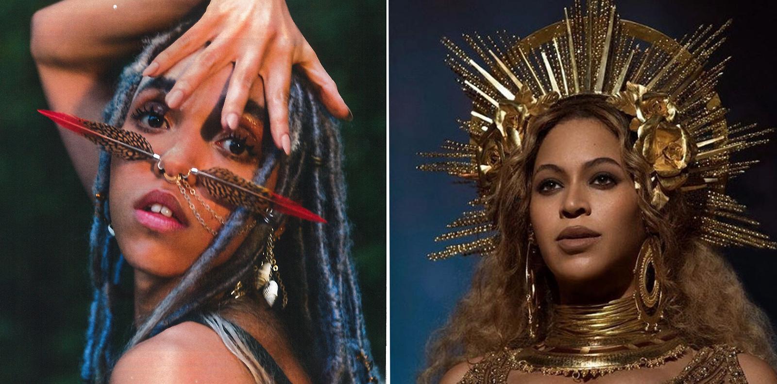 FKA Twigs et Beyoncé