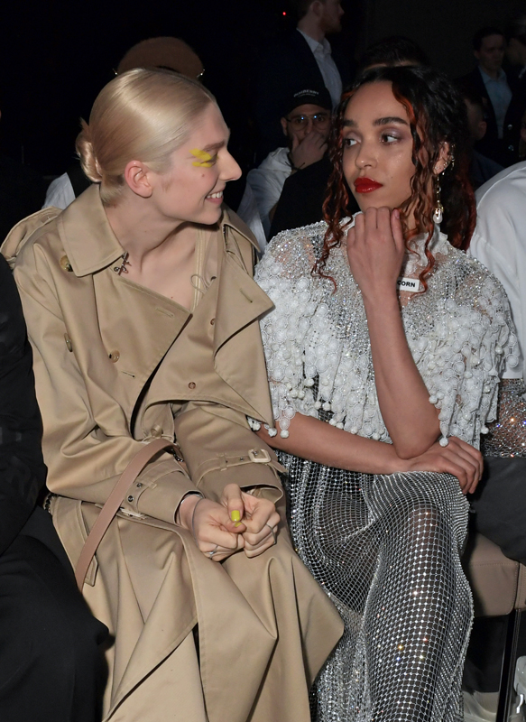 Hunter Schafer et FKA Twigs