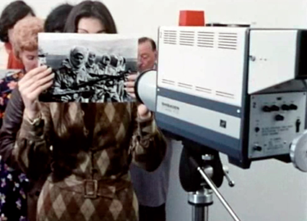 """""""Ici et ailleurs"""" (1970) de Jean-Luc Godard © DR"""