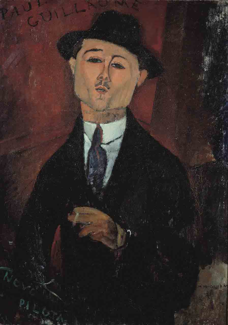 Portrait of Paul Guillaume, Novo Pilota, 1915.