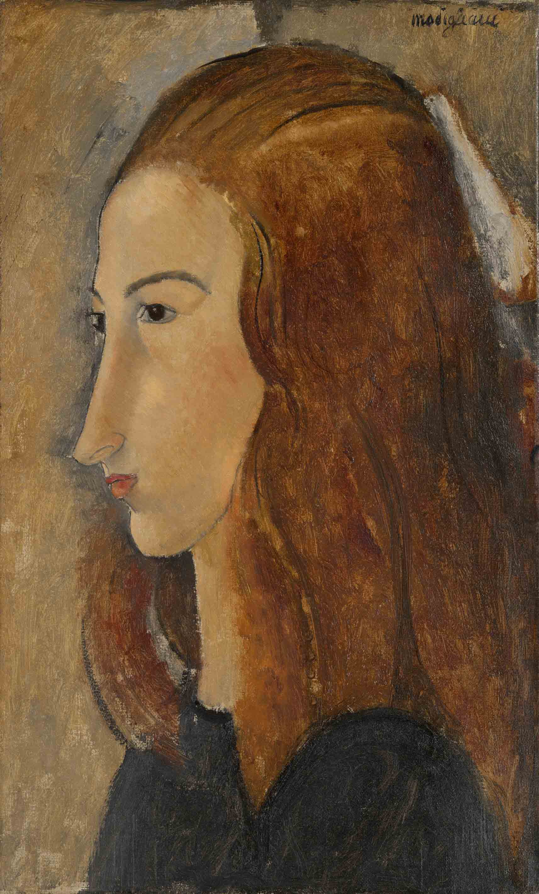 Portrait of a Young Woman, 1918