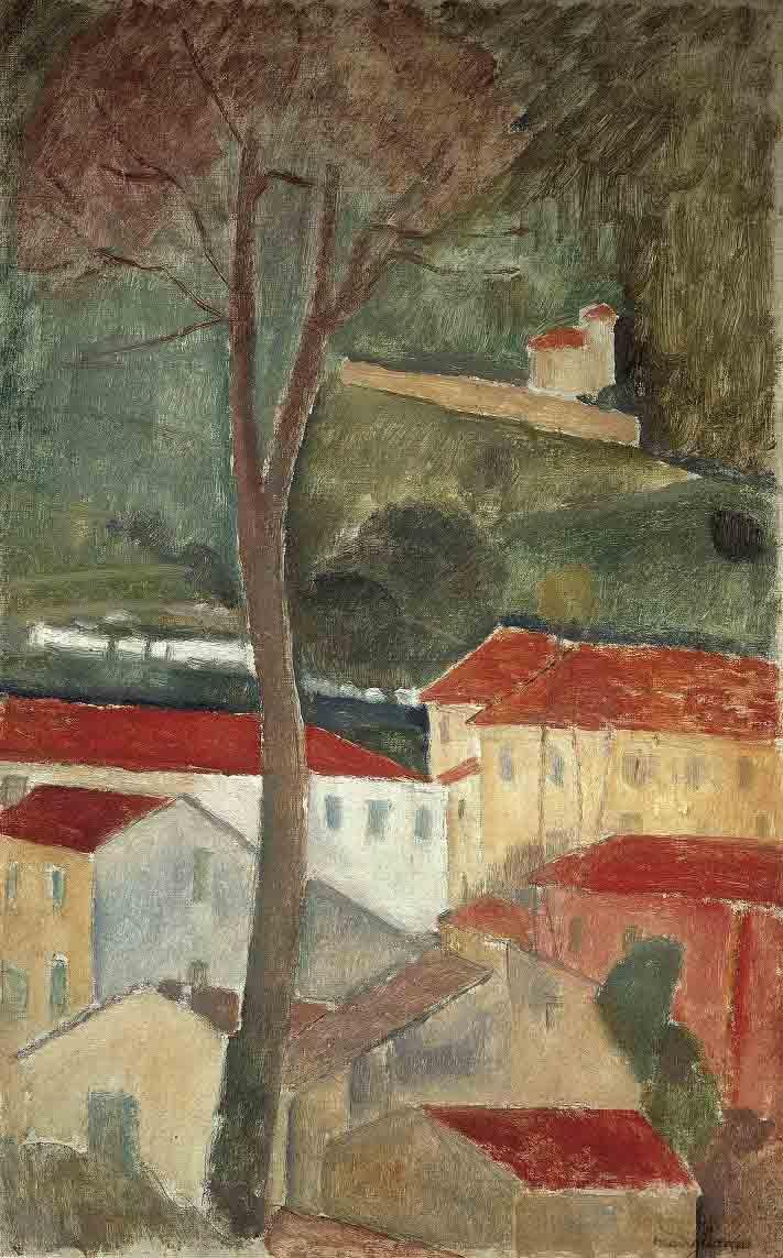 Cagnes Landscape, 1919