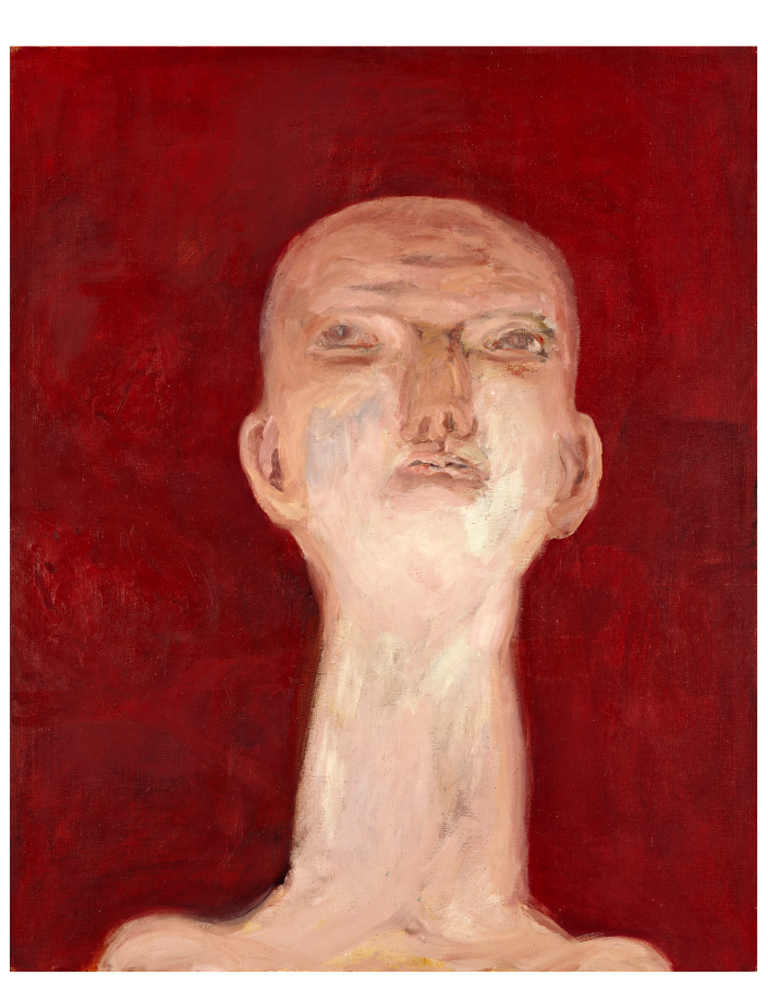 Idol-(Ernst-Neijswestnij)-(Idol-[Ernst-Neizvestny]), 1964. Georg Baselitz