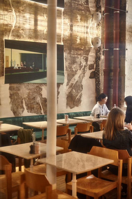 Le Café Foufou, 55, rue de Bretagne