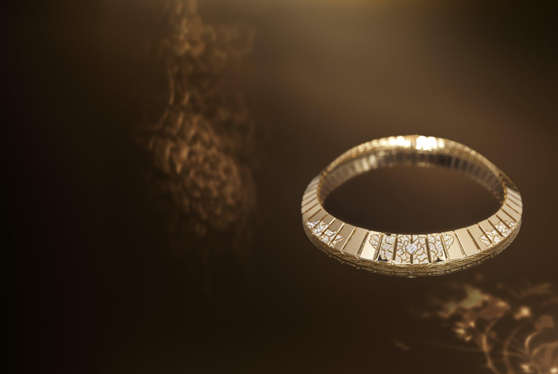 "Chanel Coromandel - ""Impression florale gold"""
