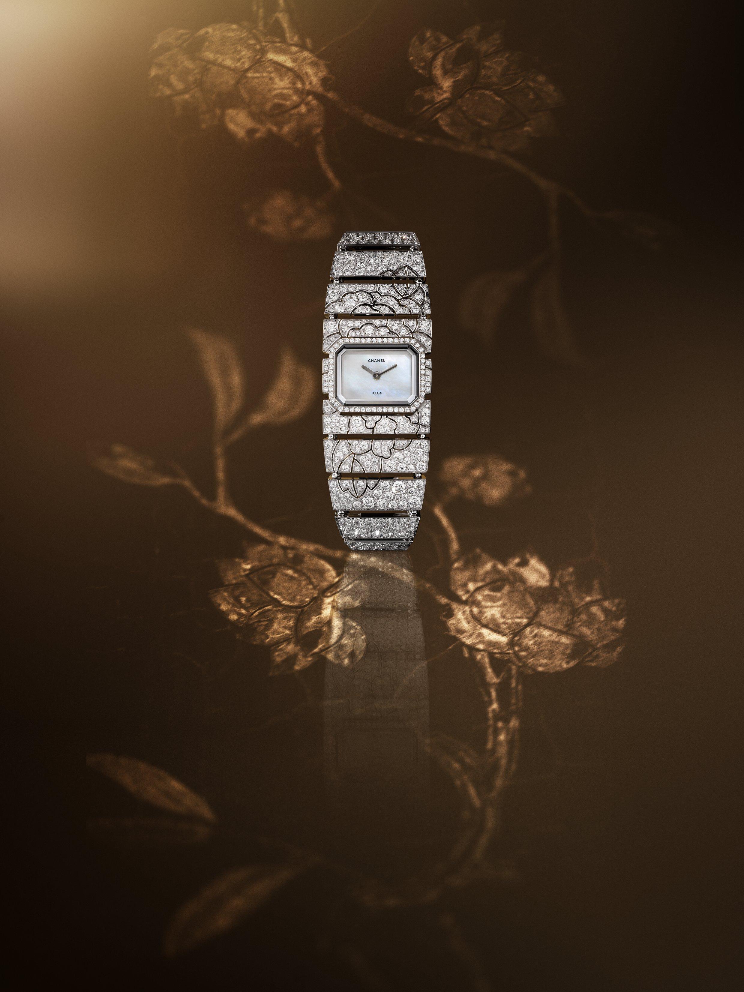 """Chanel Coromandel - """"Impression florale white"""""""