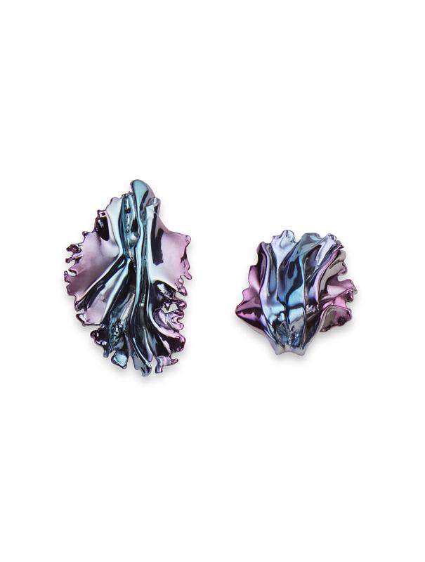Boucles d'oreilles Algues