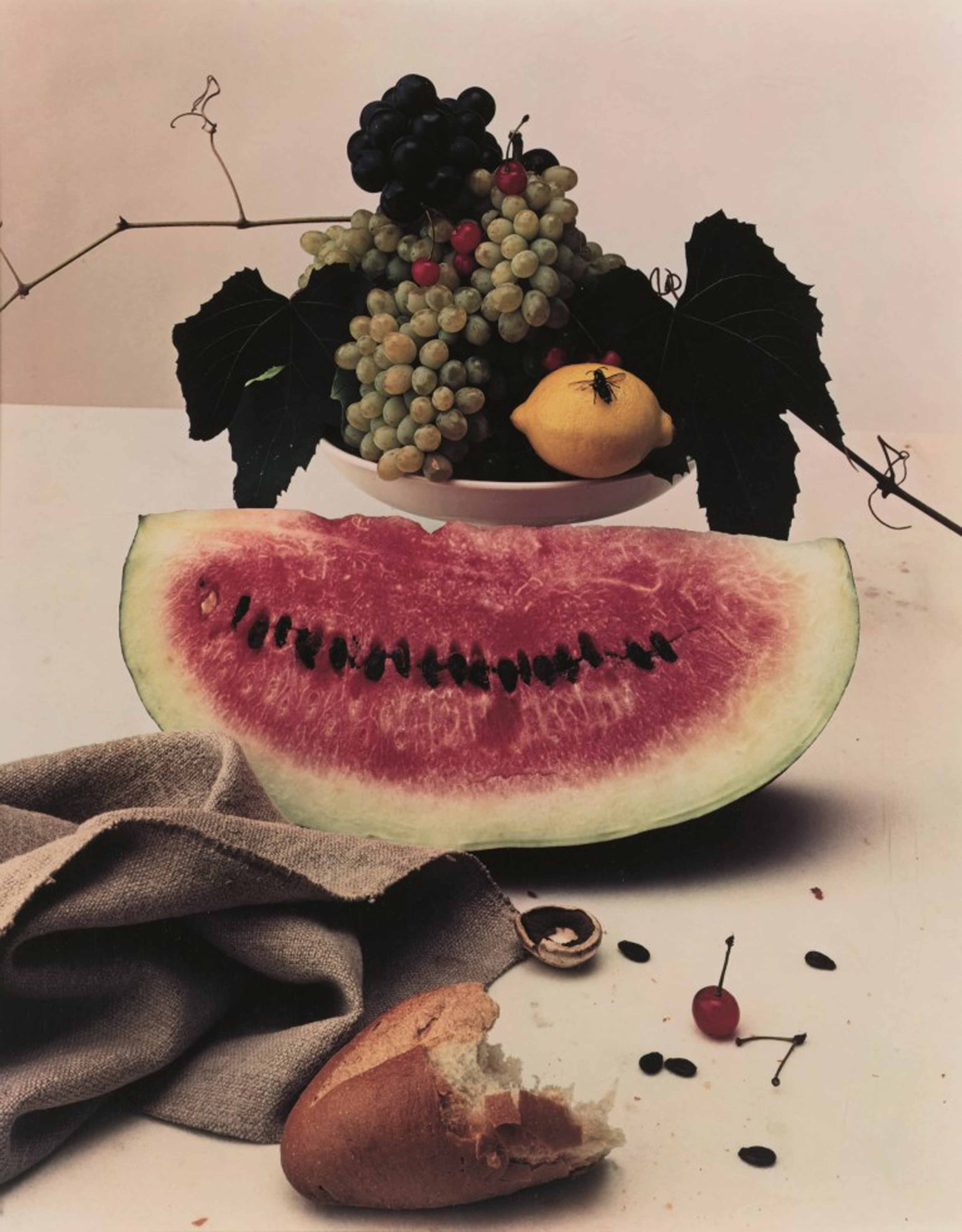 Irving Penn_Still Life with Watermelon