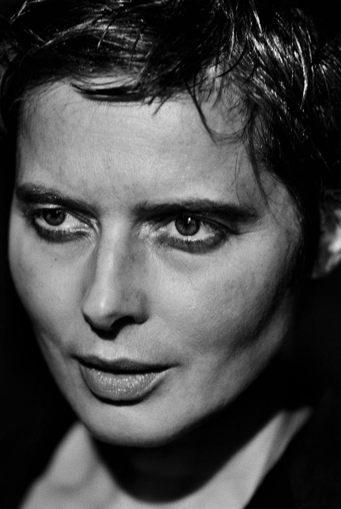 Isabella Rossellini, 1997. Peter Lindbergh.