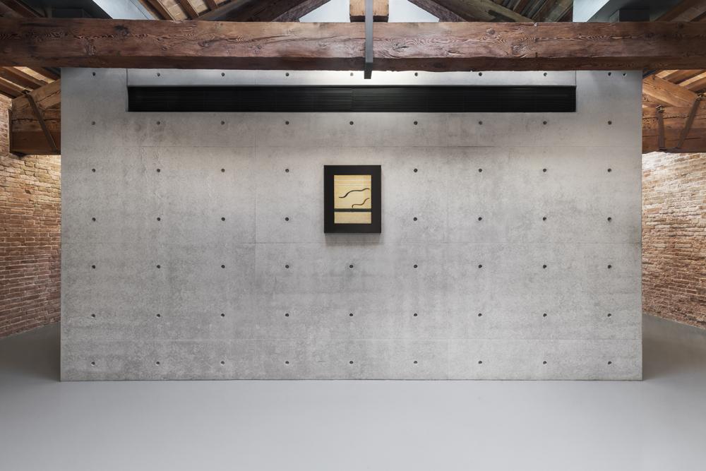 """Carol Rama, """"Luogo e segni"""" (1975), Pinault Collection. Installation view """"Luogo e Segni"""" at Punta della Dogana, 2019 © Palazzo Grassi, photography Delfino Sisto Legnani e Marco Cappelletti."""
