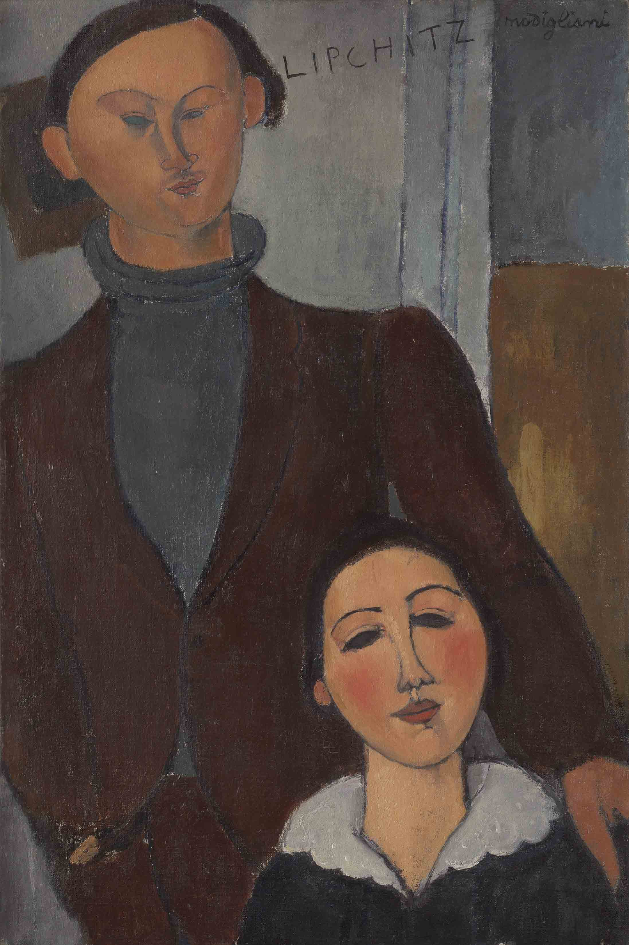Jacques and Berthe Lipchitz, 1916