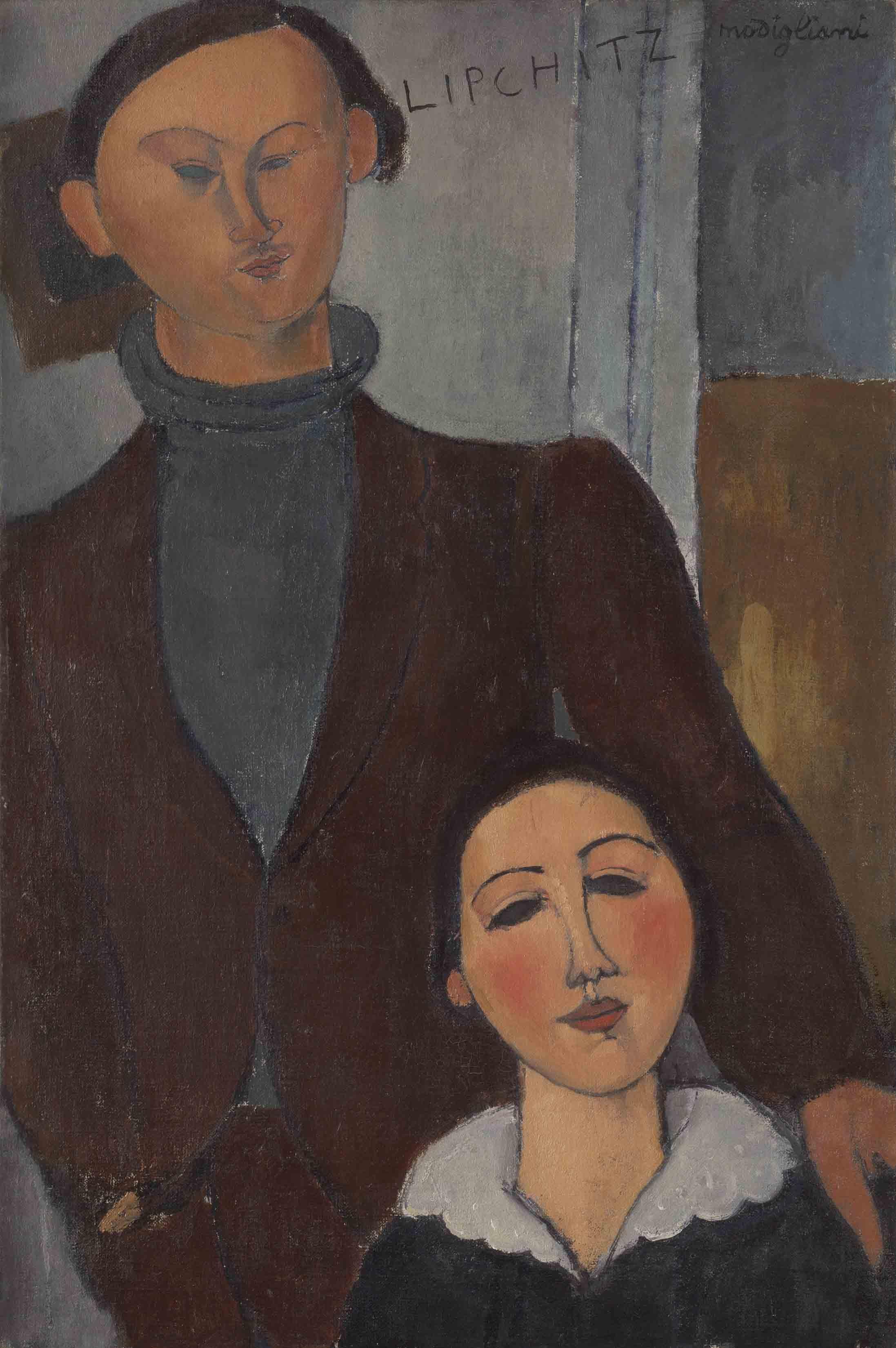 Jacques and Berthe Lipchitz, 1916