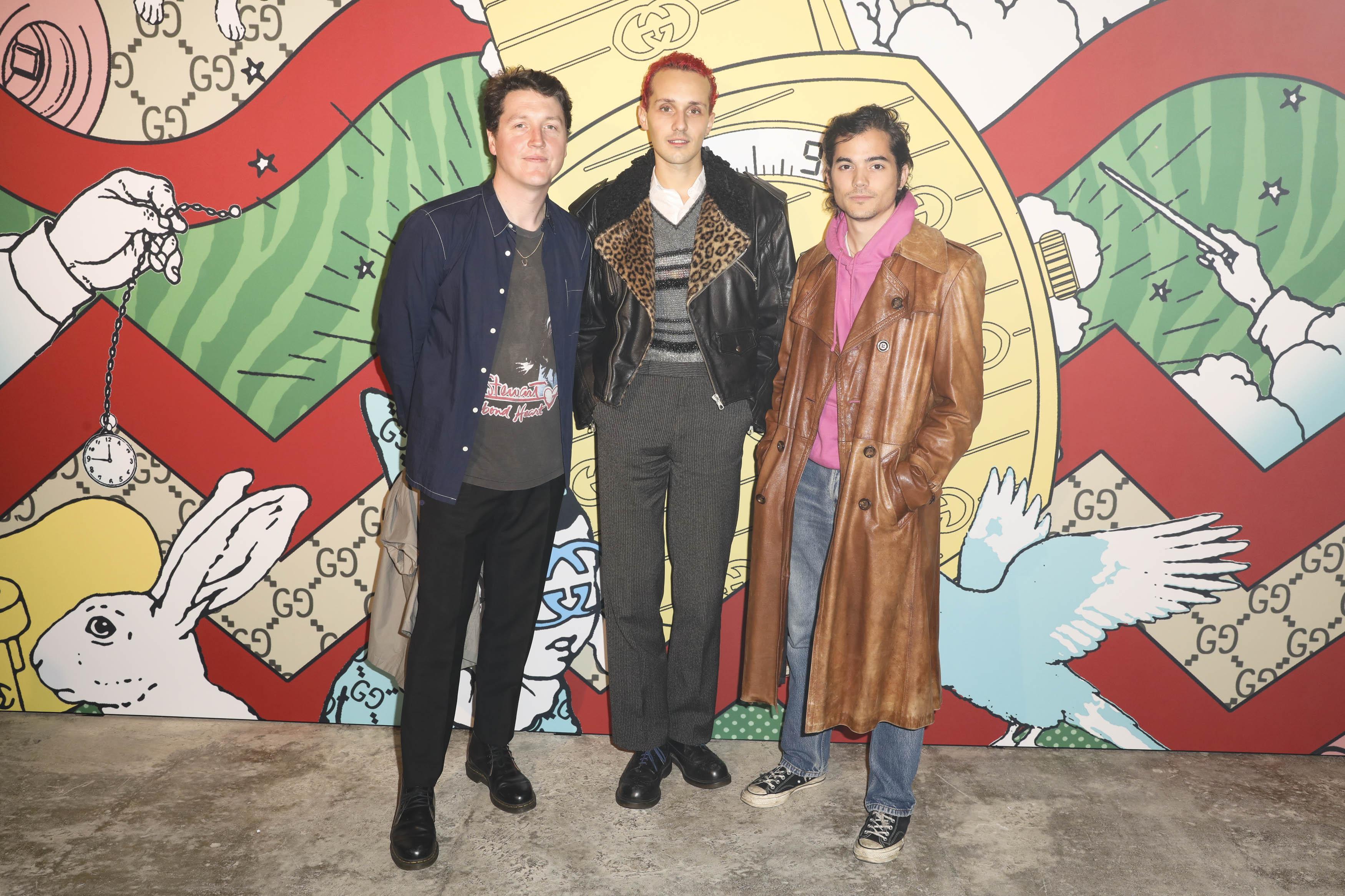 James Campbell, Vincent Pons et Ruben Esser