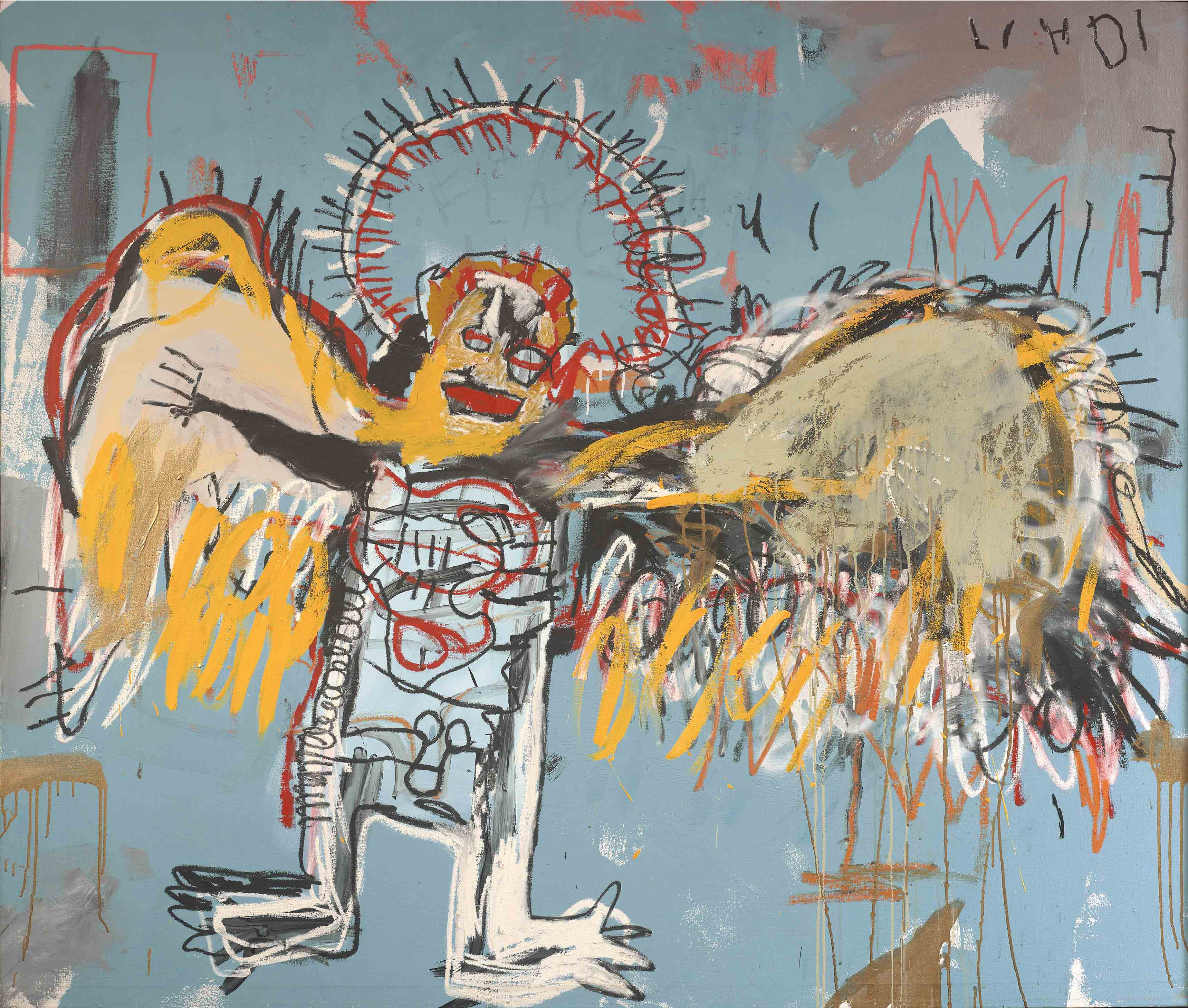Fallen Angel, Jean-Michel Basquiat (1981)