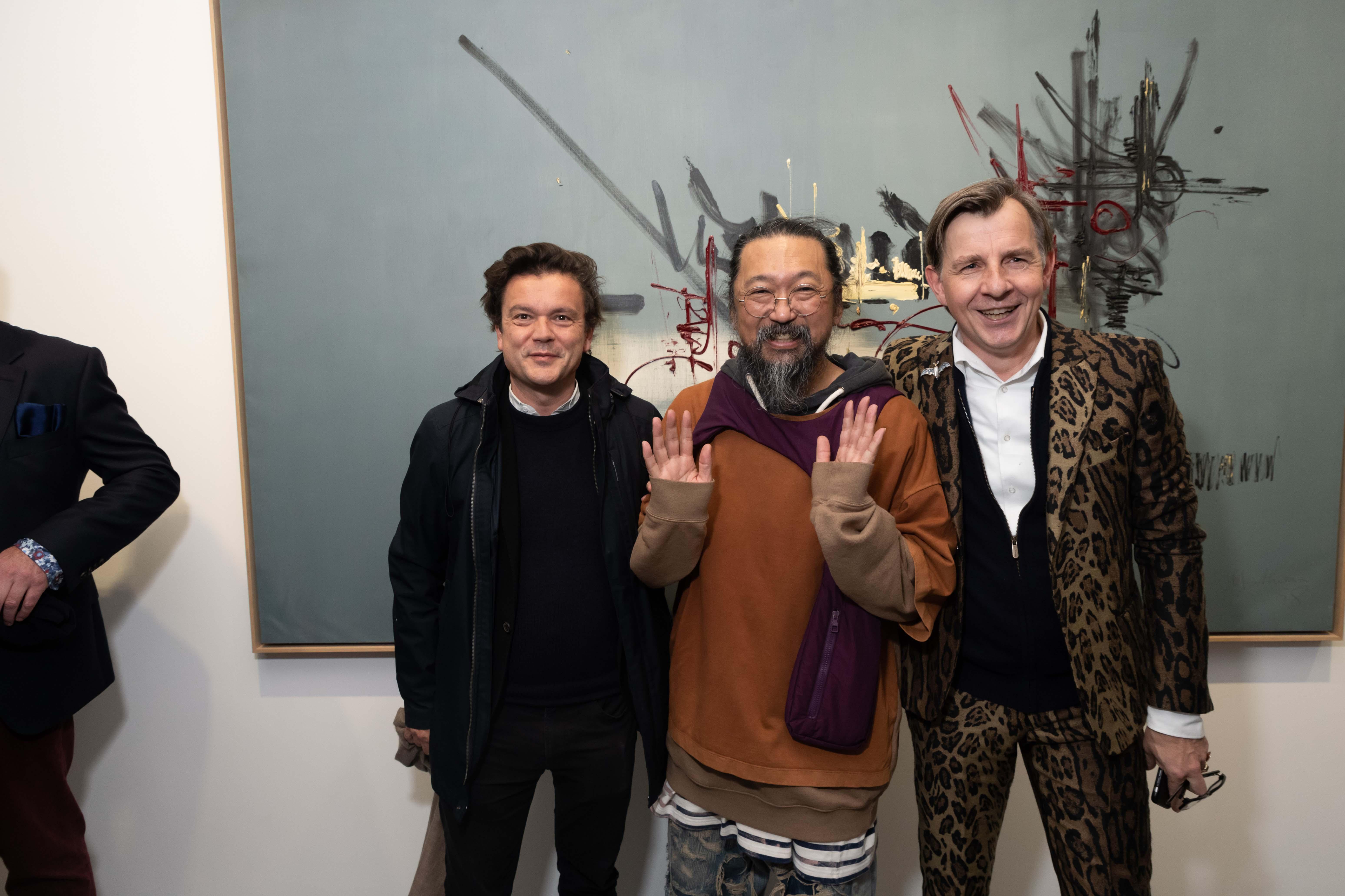 Jean-Michel Othoniel, Takashi Murakami et Johan Creten