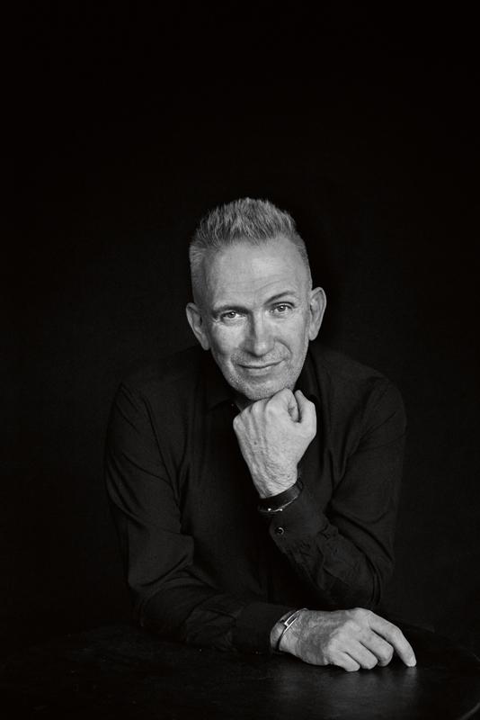 Portrait de Jean Paul Gaultier par Peter Lindbergh.