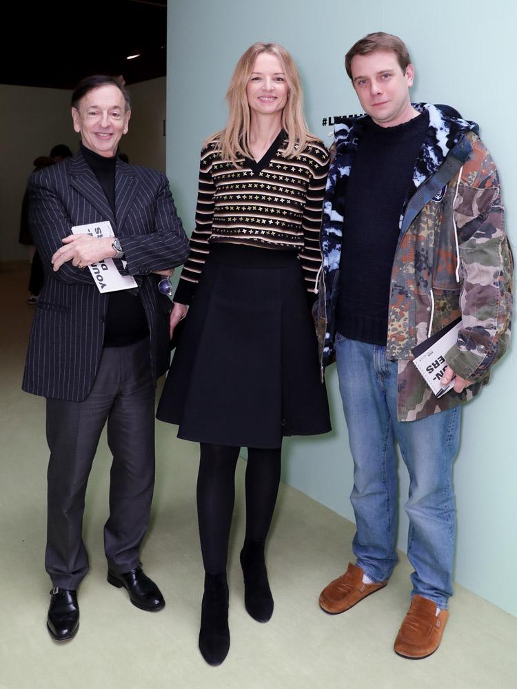 Jean-Paul Claverie, Delphine Arnault et Jonathan Anderson