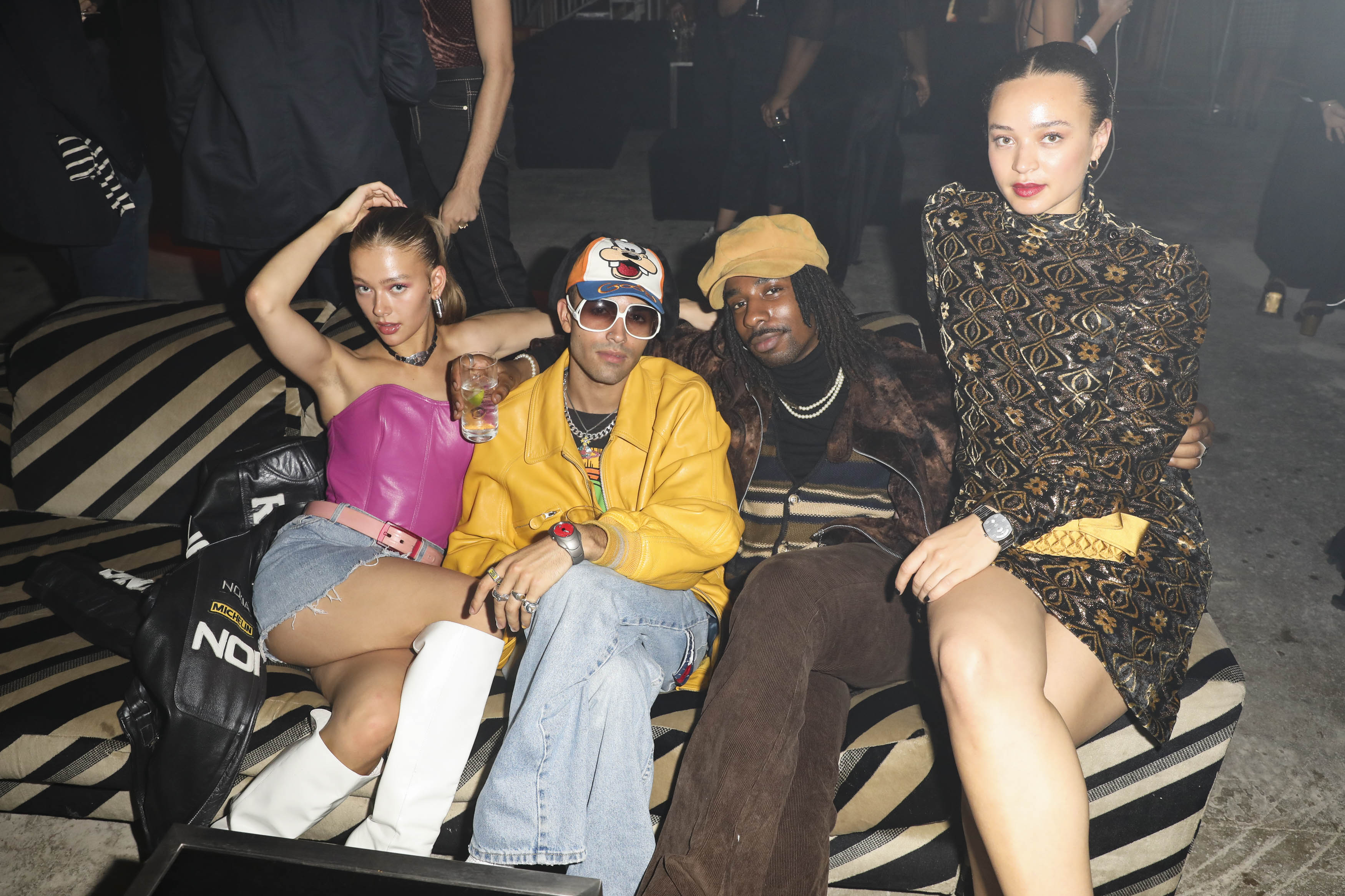 Jess Alexander, Elias Riadi, Shaquille Keith and Connie Constance