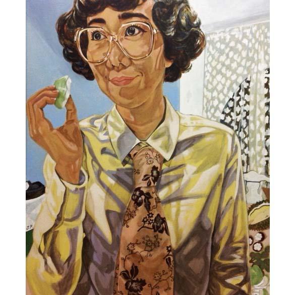 """Yasuko"" (2020), acrylique sur lin, 65 x 77 cm. Courtesy of the artist."