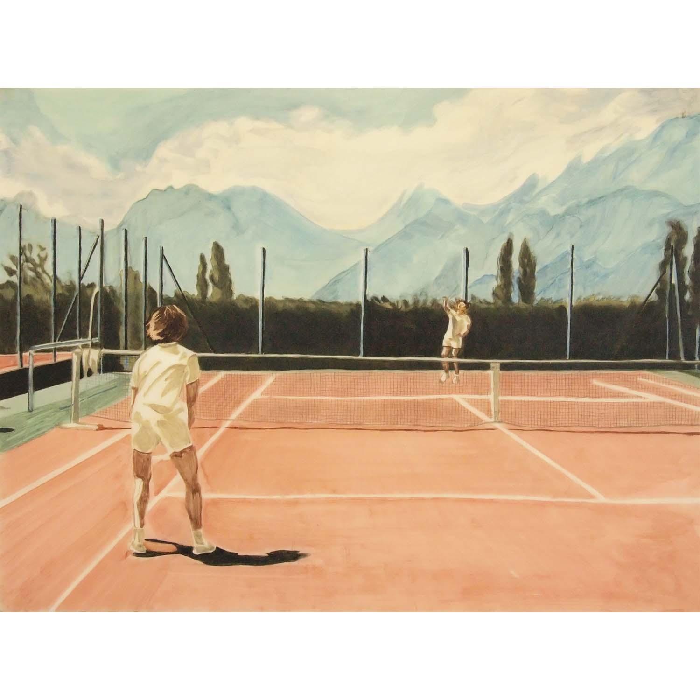 """Rohmer Light Oil"" (2019), papier pvc - 50 x 65 cm. Courtesy of the artist."