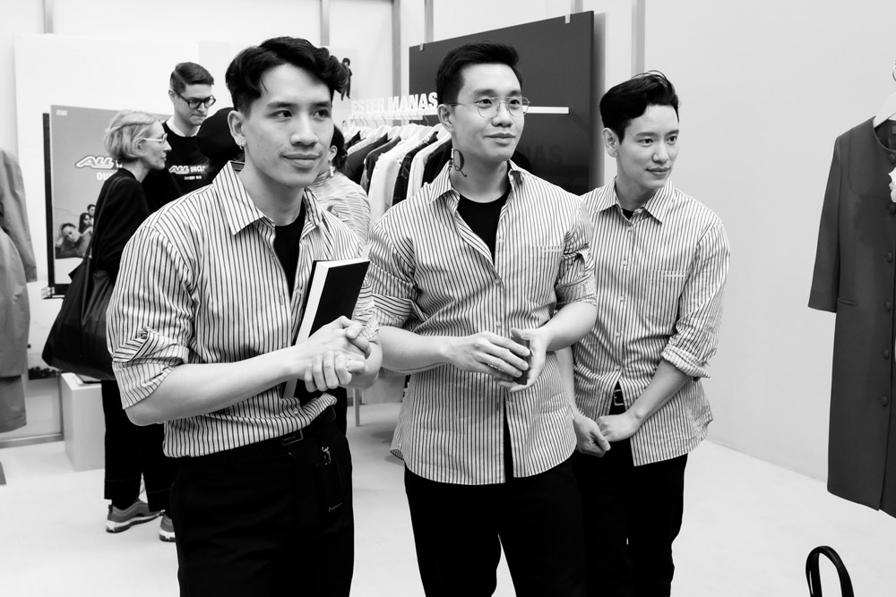 Jin Kay, Huy Luong et Dylan Cao