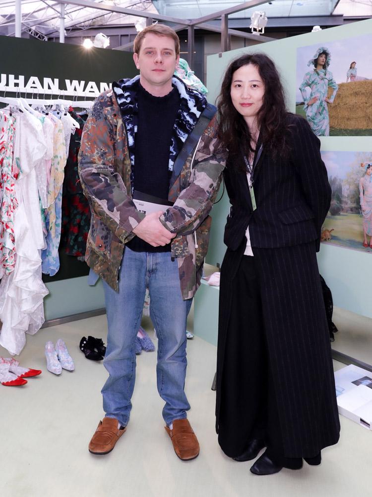 Jonathan Anderson et Yuhan Wang