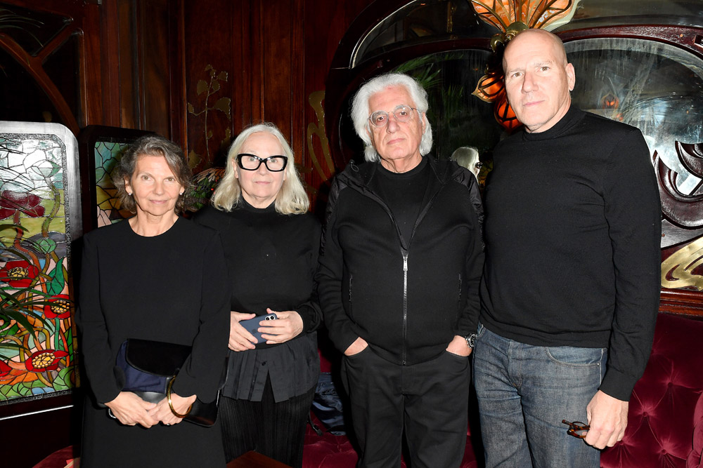 Marian Lacombe, Brigitte Lacombe, Germano Celant and Michael Rock © Jacopo Raule/Getty Images for Prada