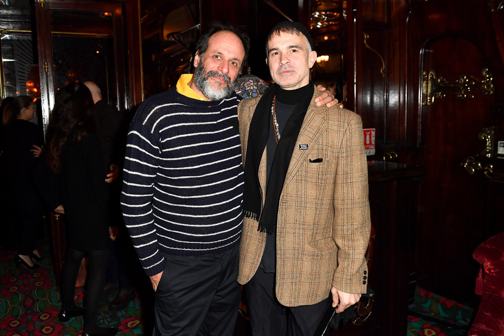 Luca Guadagnino and Willy Vanderperre © Jacopo Raule/Getty Images for Prada