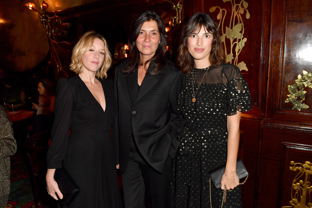 Ludivine Sagner, Emmanuelle Alt and Jeanne Damas © Jacopo Raule/Getty Images for Prada
