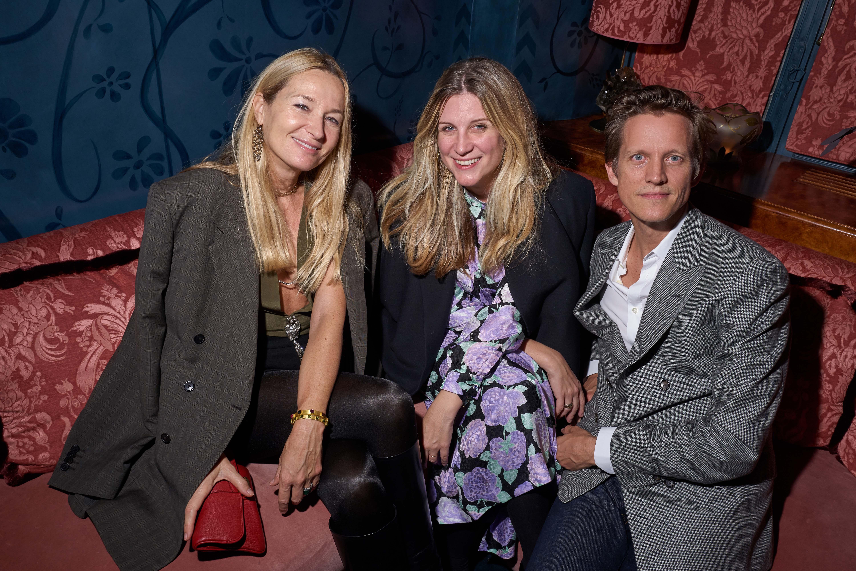 Julie de Libran, Kristina O'Neil et Magnus Berger