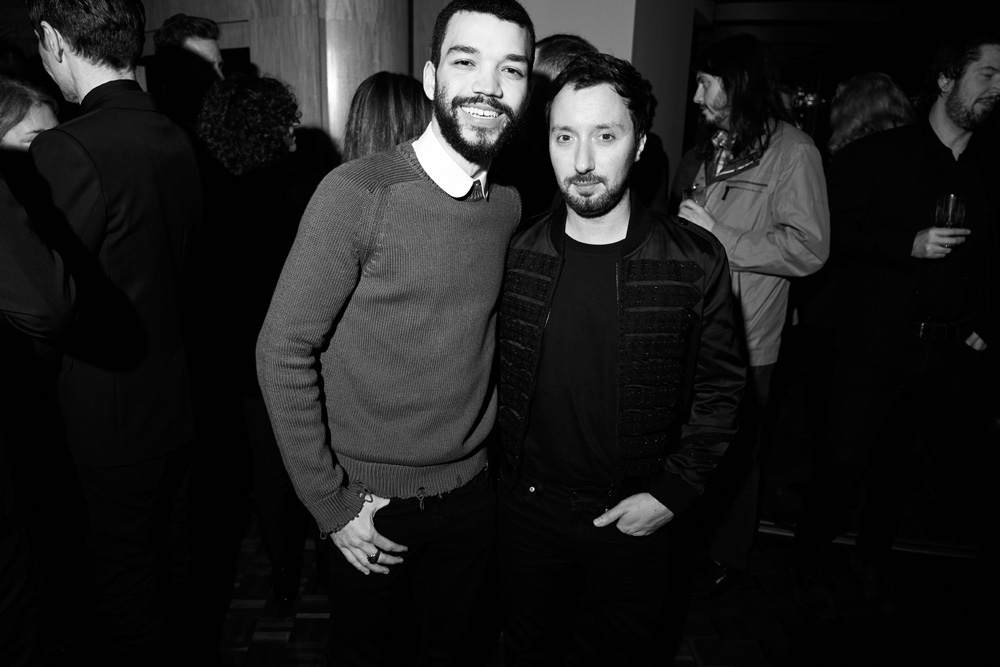 Justice Smith et Anthony Vaccarello