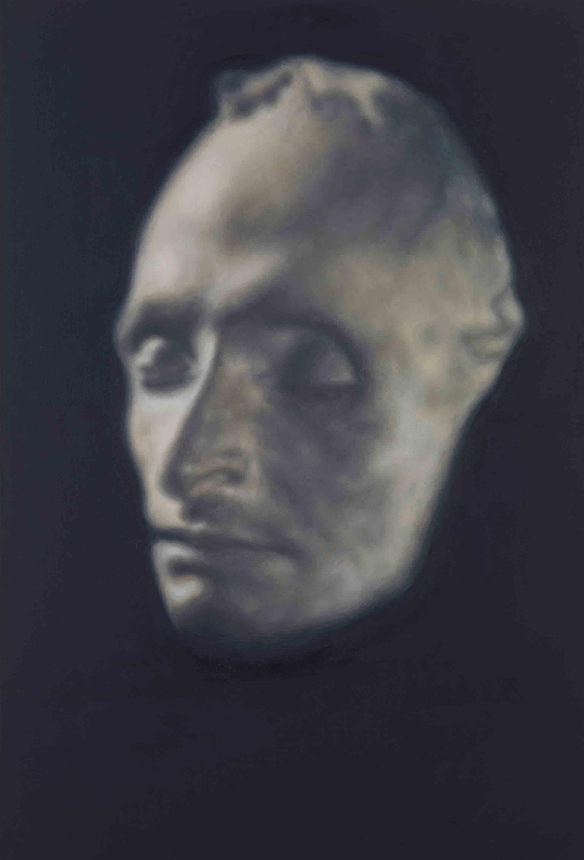 Y. Z Kami, Geometry of Light, Gagosian Gallery, masque mortuaire de Blaise Pascal