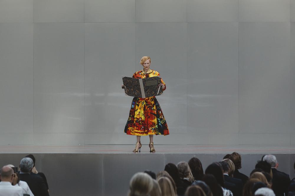 Performance de Tilda Swilton