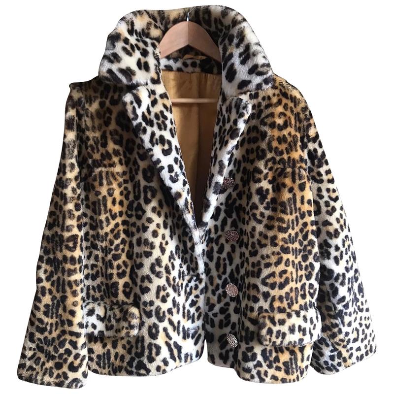 Manteau en fausse fourrure - Kate Moss