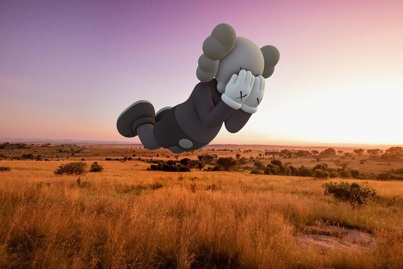 Parc national du Serengeti, Tanzanie. Image courtesy of Kaws and Acute Art