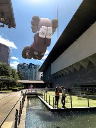 National Gallery of Victoria, Melbourne. Image courtesy of Kaws and Acute Art