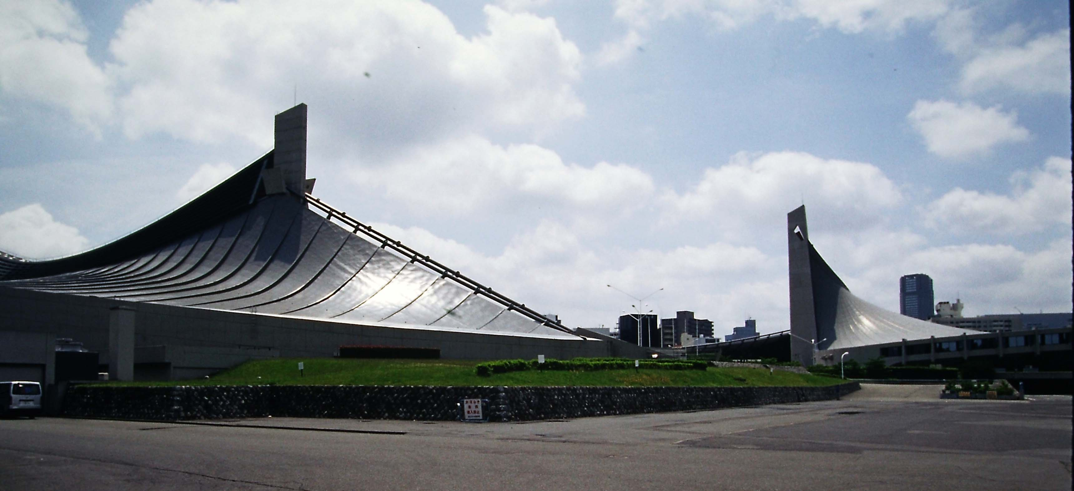 Kenzo Tange, National Gymnasiums for the Tokyo Olympics, 1964