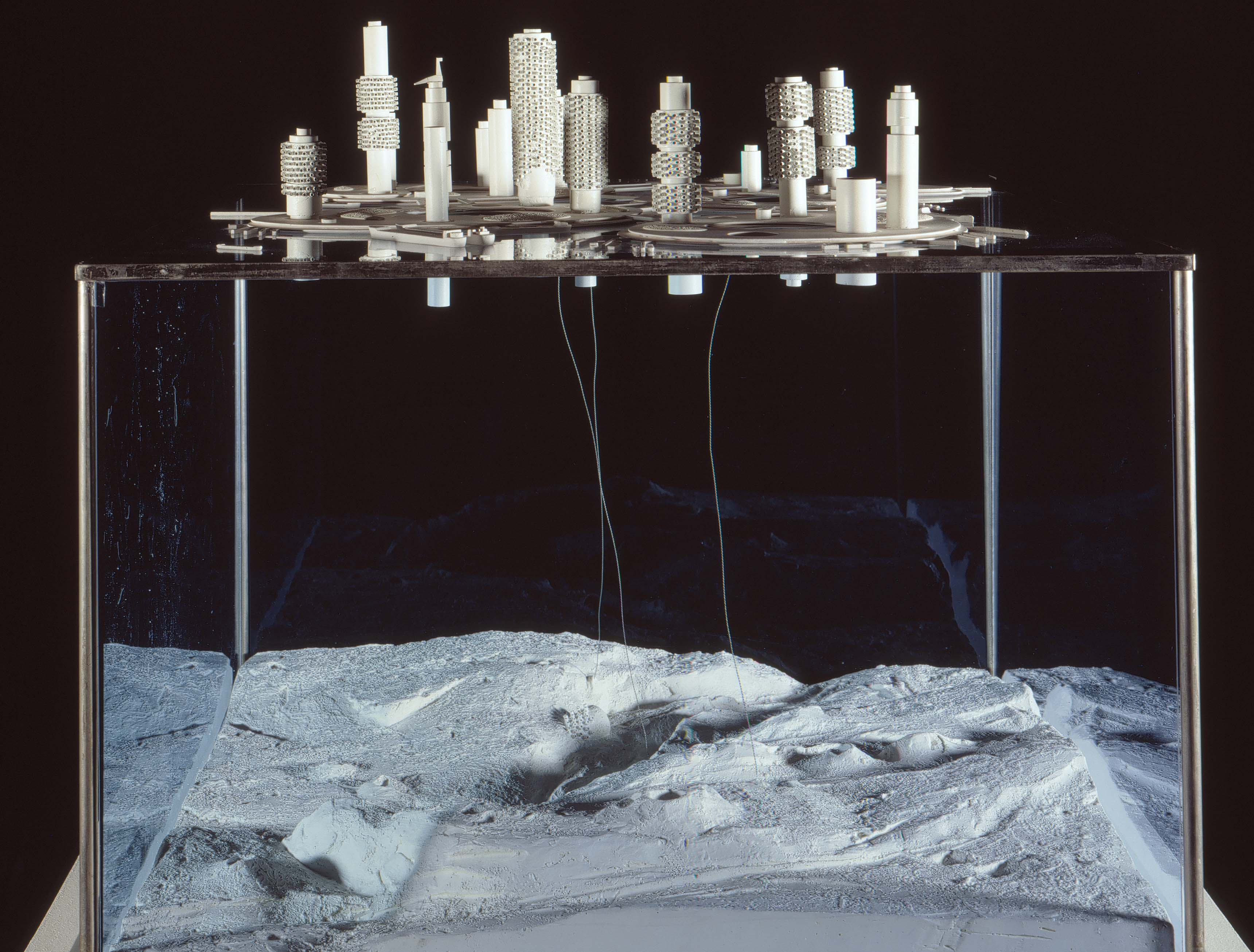 Kiyonori Kikutake, Marine City (Ville sur la mer), projet non réalisé, 1963