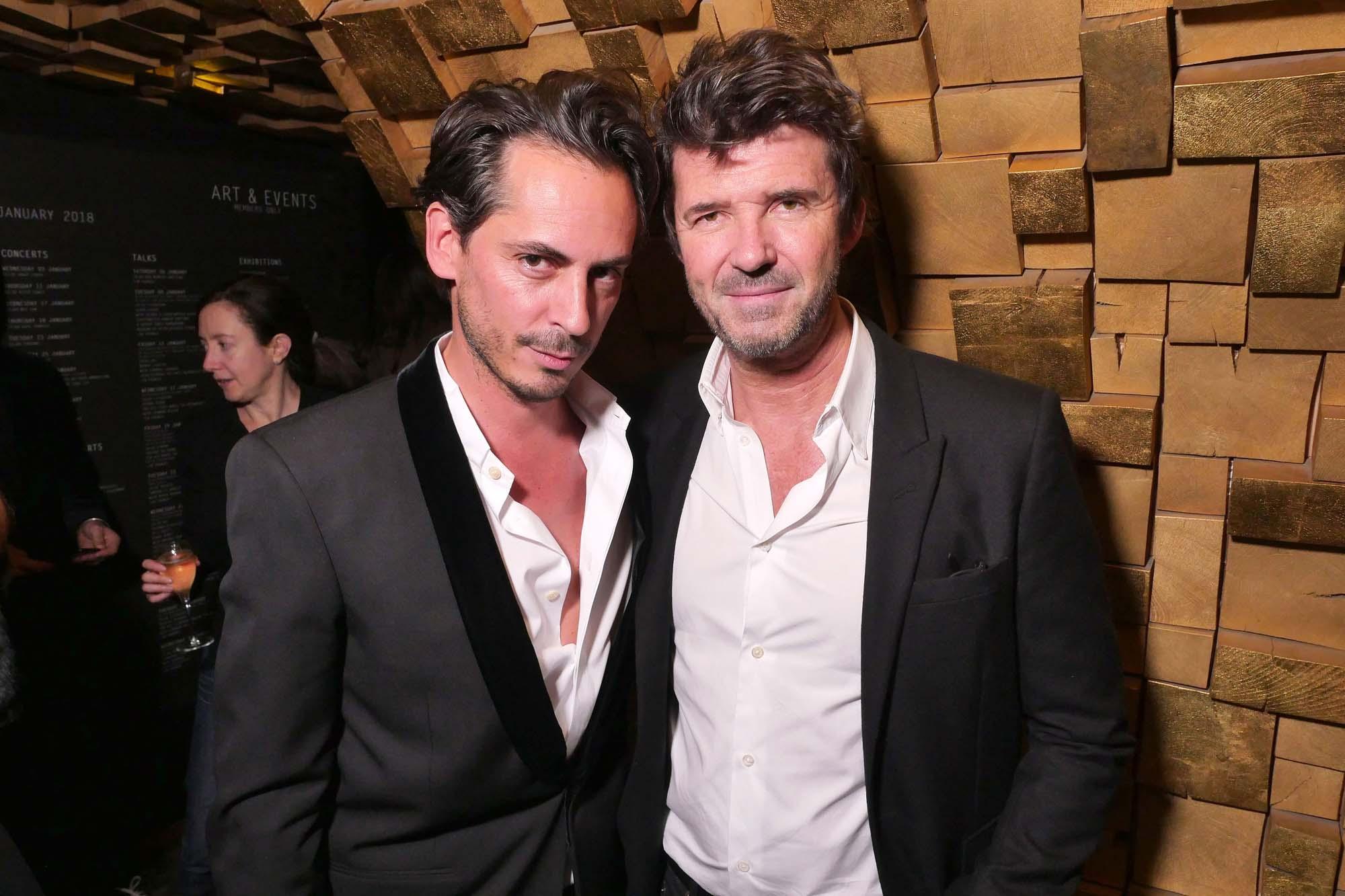 Kilian Hennessy et Paul-Emmanuel Reiffers