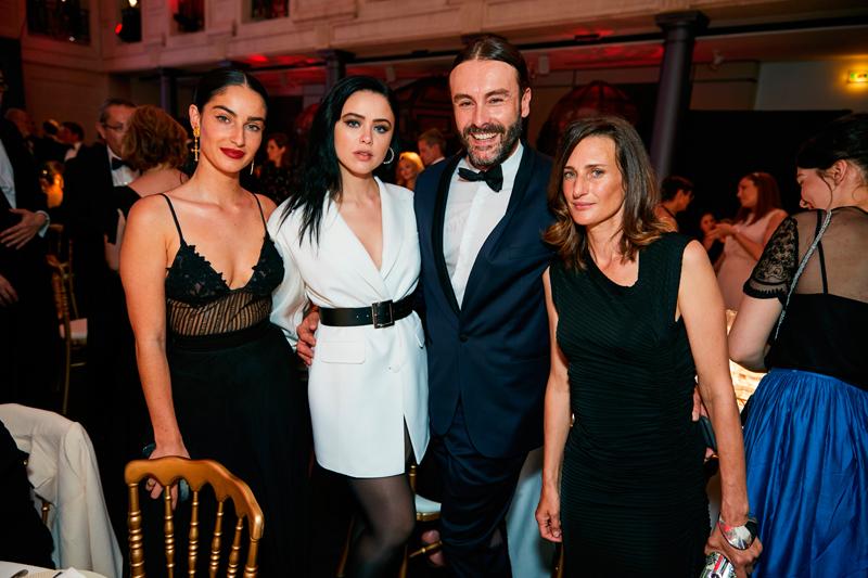 Kristina Bzan, Pascal Loperena et Camille Cottin