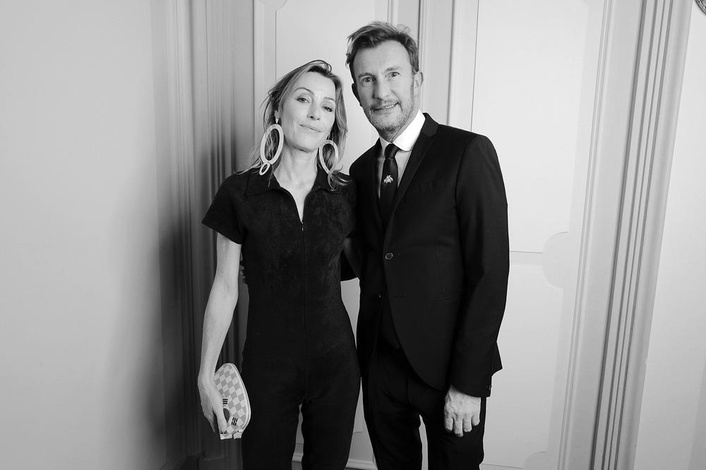 Sibylle Granchamp et Marc Deloche