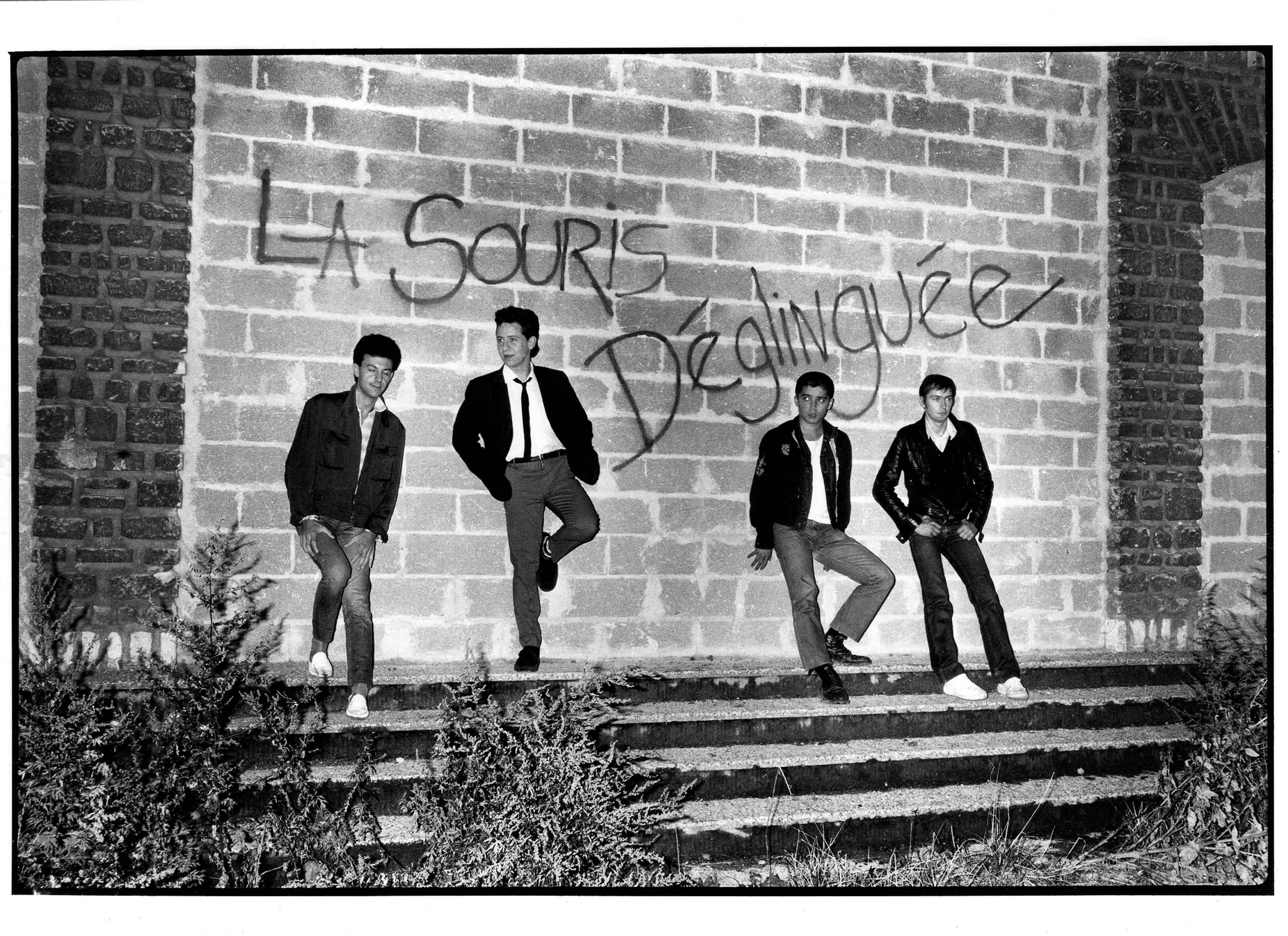 La souris déglinguée, 1981 ©Olivier Claisse