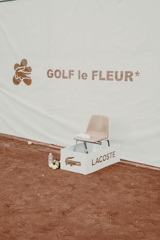 The Lacoste and Golf le Fleur* (Tyler, The Creator's label) collaboration.