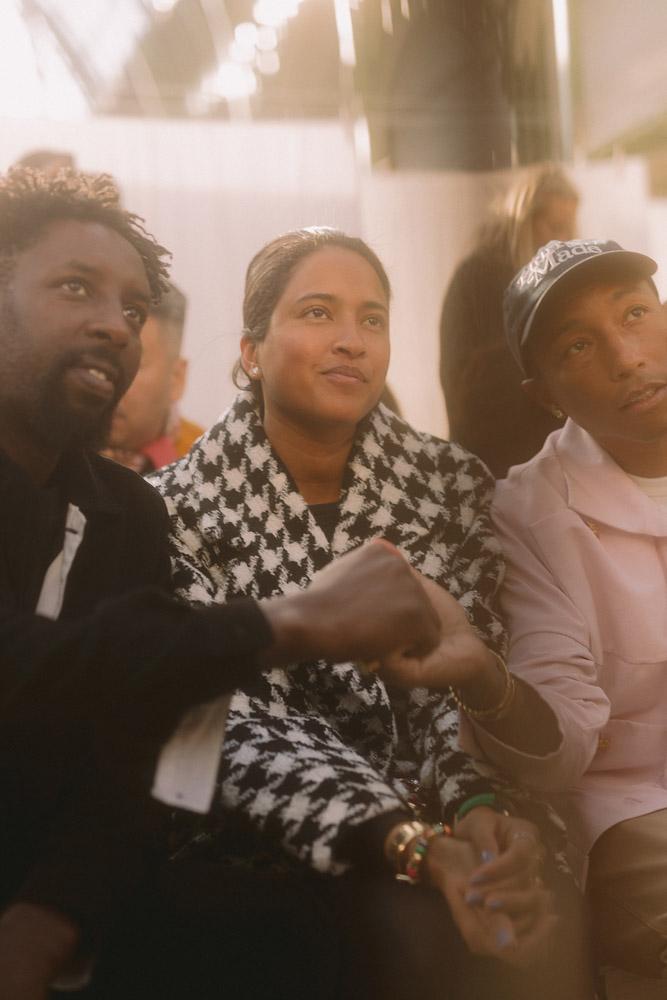 Ladj Ly et Helen et Pharrell Williams