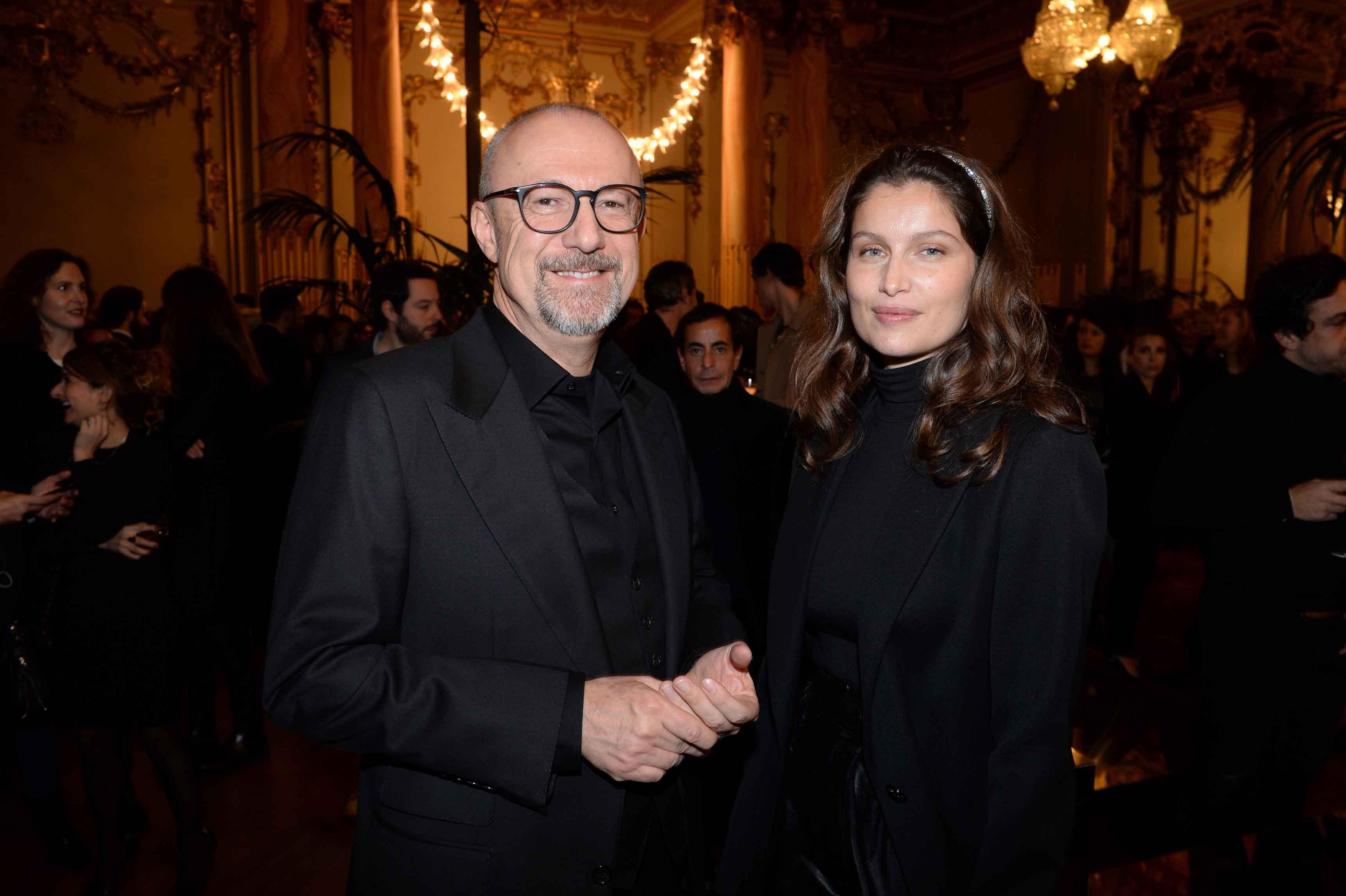 Laetitia Casta et Sandro Veronesi